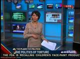"TAMRON HALL sexy - ""MSNBC News Live"" (May 13, 2009) - *tight dress, legs*"