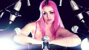 "Skye Sweetnam - Sumo Cyco ""Cry Murder"" Lyric Video - Screencaps - 2014 (Pink Bra)"