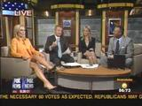 Page Hopkins -Fox News --- Viewer comments on her legs. w/ Leg Cross.