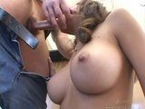 Perfect big tits fucking hardcore